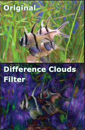 Difference Clouds filter